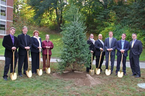 Holy Cross Receives Distinction as Tree Campus USA