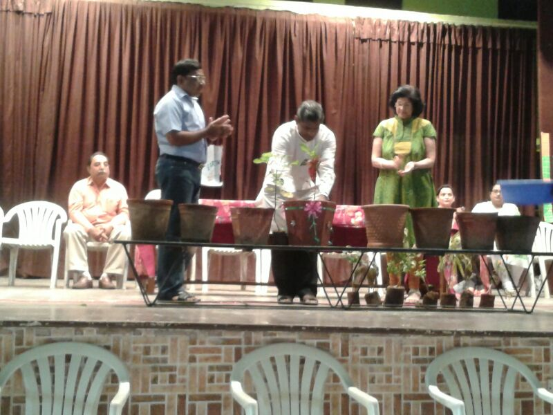 Environment day at St.Xavier's High School,Ahmedabad (APX )