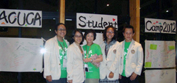 USD Participation in ACUCA Student Camp 2012: The Youths Create Green Asia