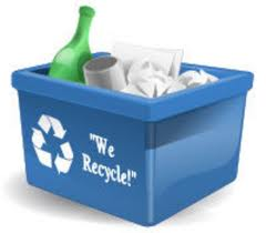 Recycle Bin with Items