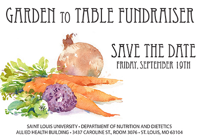 The 2nd Annual Garden to Table Fundraiser is back