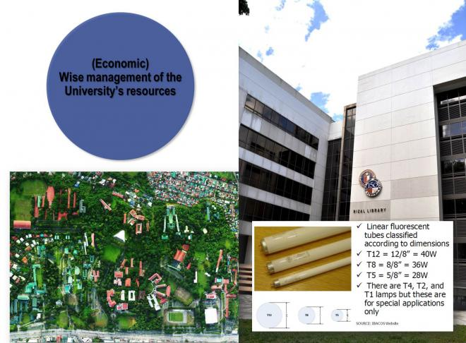 Economic – Wise management of the University's resources