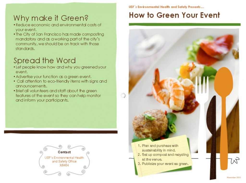 Greening your Events