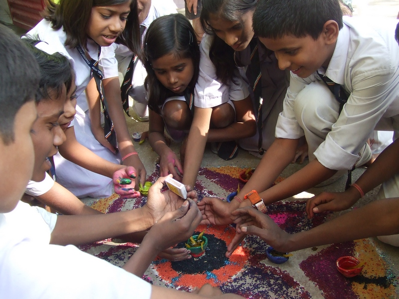 More Festivity with Less Electricity: Tarumitra students plead for Puja time