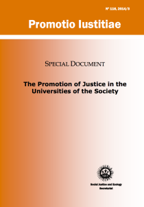 Jesuit Universities Invited to Deepen Commitment to Social Justice in New Document from Jesuit Curia in Rome