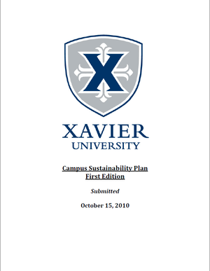 Campus Sustainability Plan (CSP)