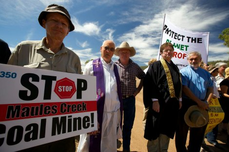 Religious rebels rattle Big Coal's cage