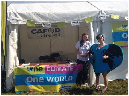 CAFOD go to V-Fest 2015