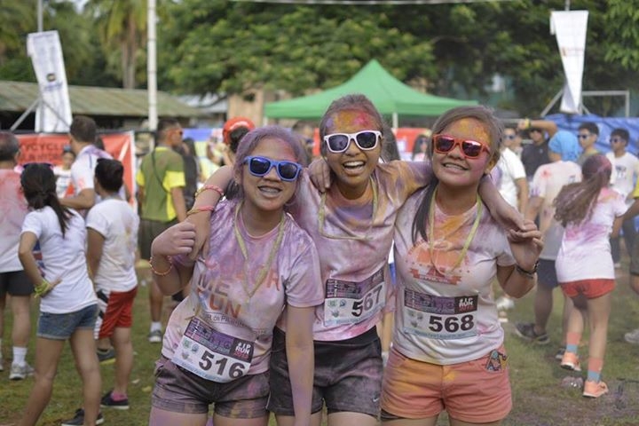 XSF holds first IP color run