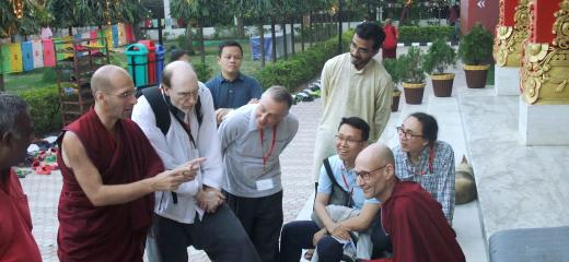 Dialogue with Buddhists on ecology and faith