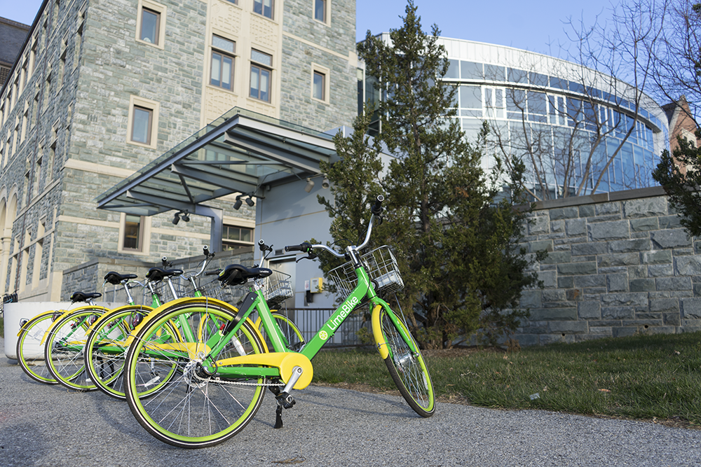 Dockless Bike-Sharing Reaches Campus With LimeBike Collaboration