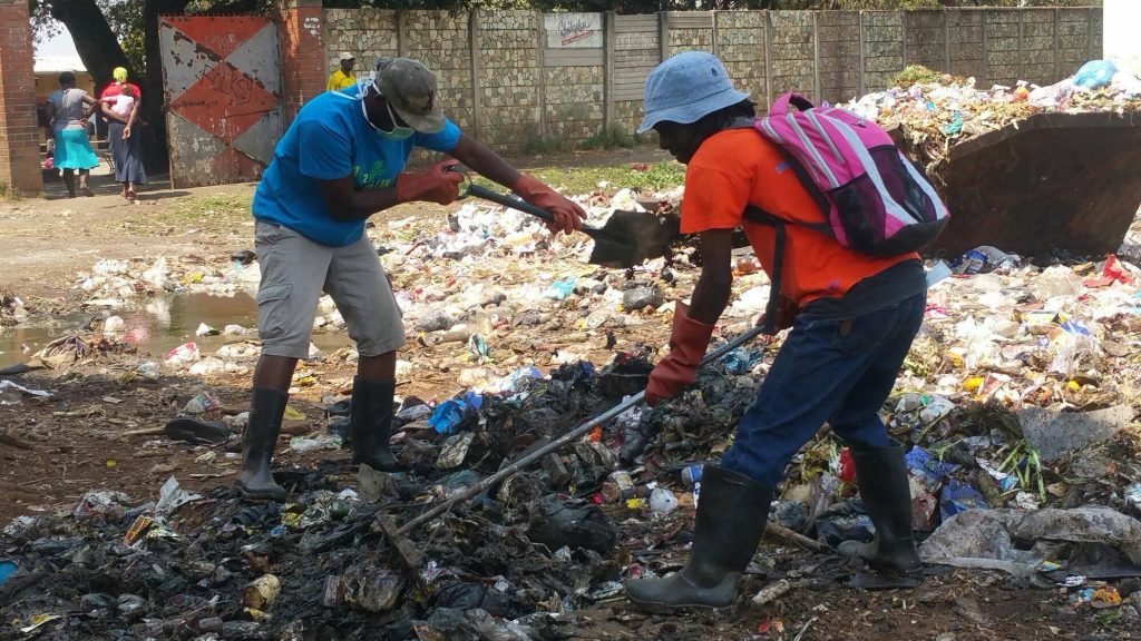 Daring the impossible: Team up to Clean up rewriting Mbare's history