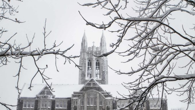 Boston College's Student Government Calls for Divestment