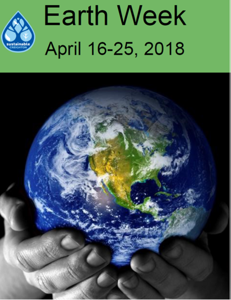 Earth Week 2018: Pledge to end Plastic Pollution