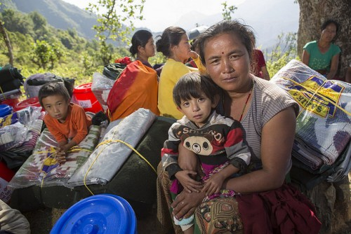 Development and Peace and Caritas Nepal provide assistance to Nepal earthquake victims