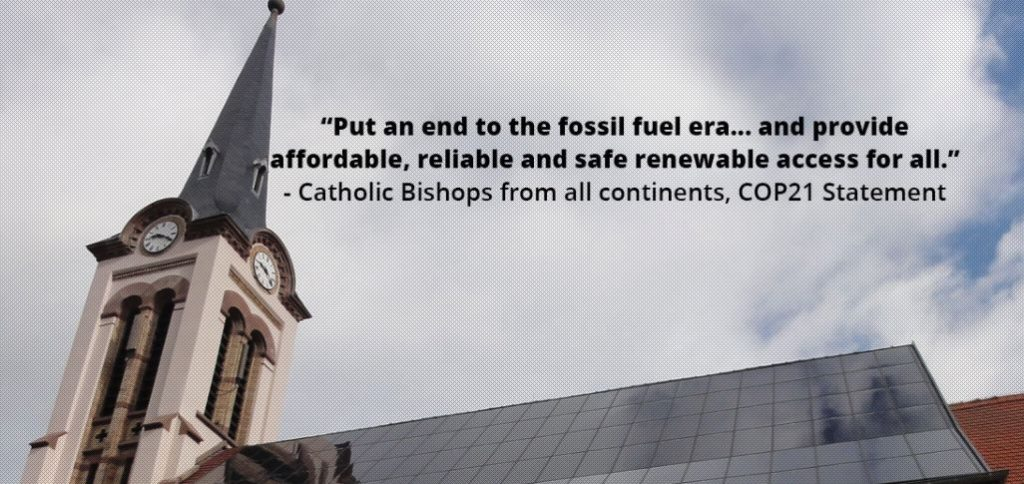 Catholic Fossil Fuels Divestment Commitment