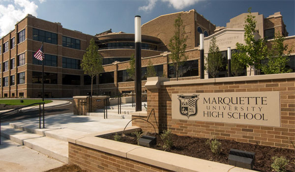 Marquette University High School Rated Highest Performing High School in Wisconsin