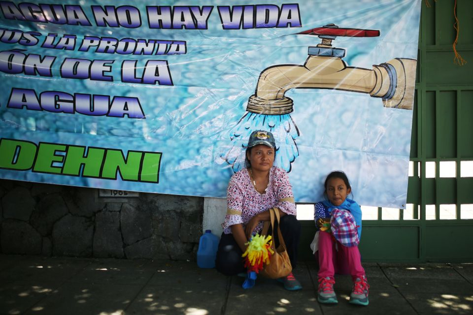 Bishops of El Salvador warn against privatizing water