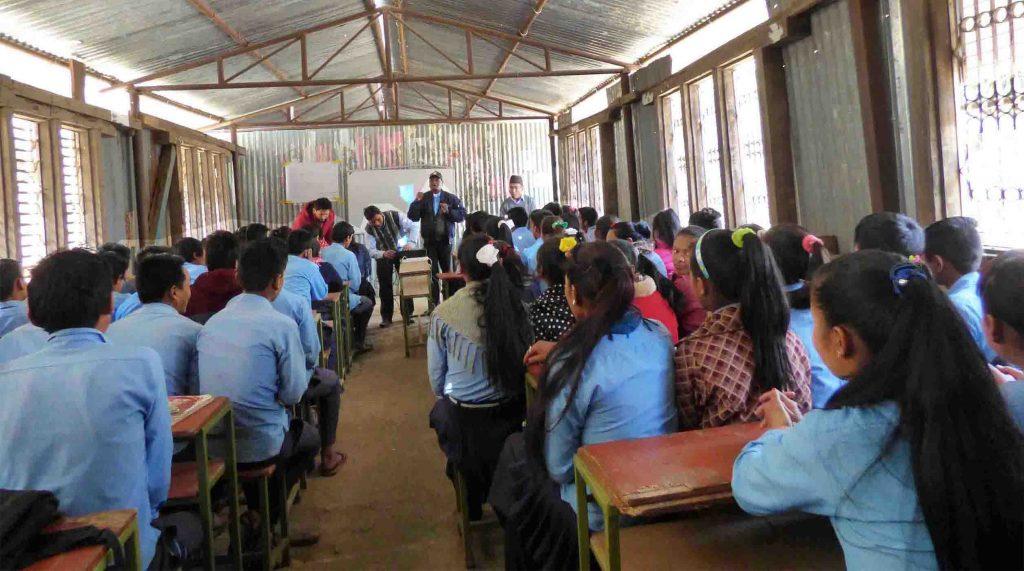 Eco Club Establishment in Haleshwor Secondary School, Suri Dolakha
