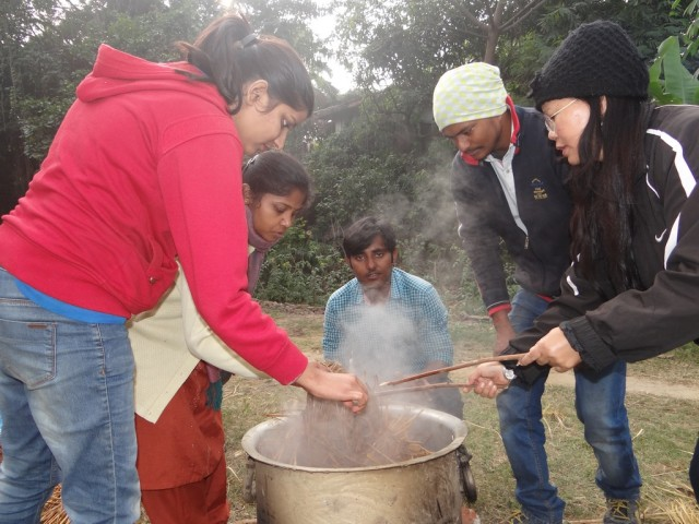 Eco-rice festival celebrated in alfresco ambiance