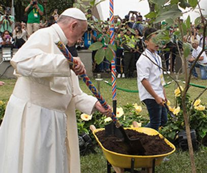 """On the Third Anniversary of Laudato Si', Catholic Institutions Declare """"We Are Still In"""" on the Paris Agreement"""