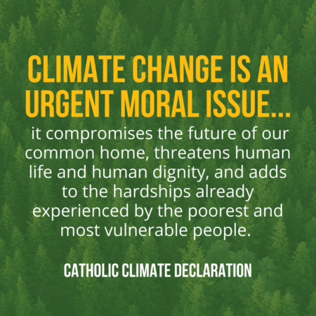 "Jesuit network Institutions sign Catholic Climate Declaration: ""We are still in"" on Paris Climate Agreement"