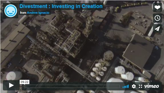 Divestment: Investing in Creation – Video