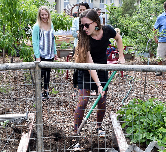 Campus Garden Promotes Sustainable Food Practices