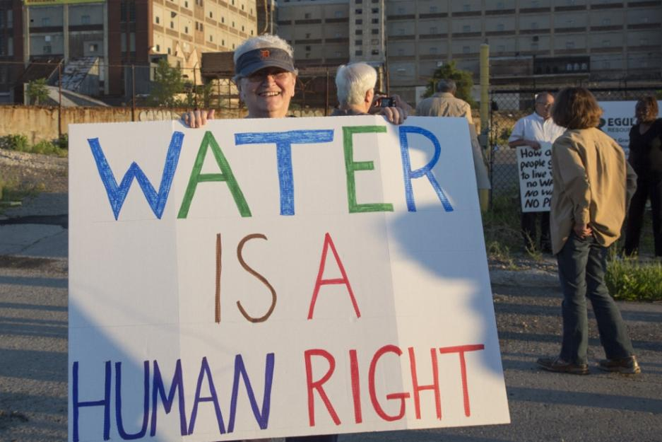 Water is Life: Sister joins fight against shut-offs and privatization of Detroit water