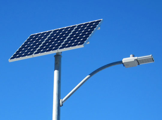 Solar Powered Light is Latest in Holy Cross' Sustainability Efforts