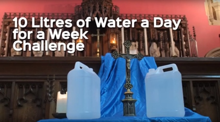 Chaplain's water challenge for the world's poor