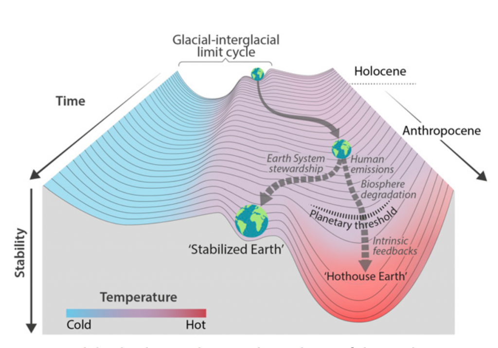 Urgent action needed to steer a Hothouse Earth towards a Stabilized Earth