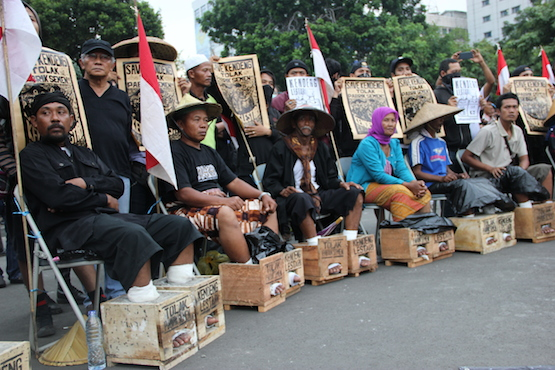 Church supports environmental protest in Jakarta
