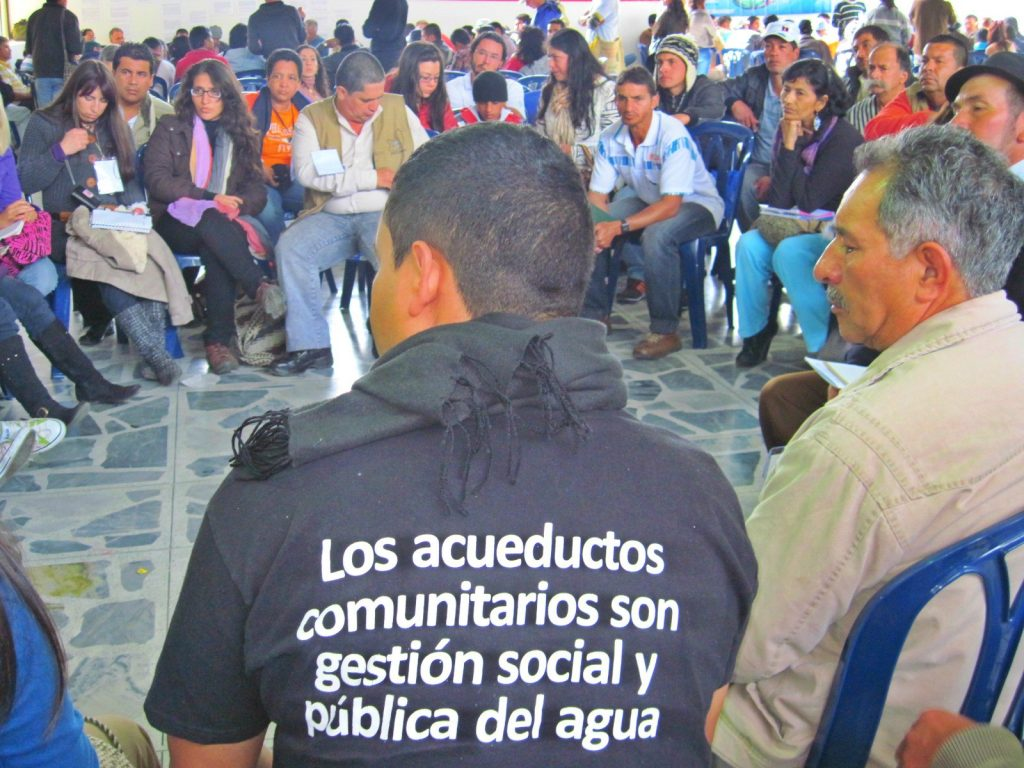 NATIONAL MEETING OF COMMUNITY AQUEDUCTS IS APPROVED