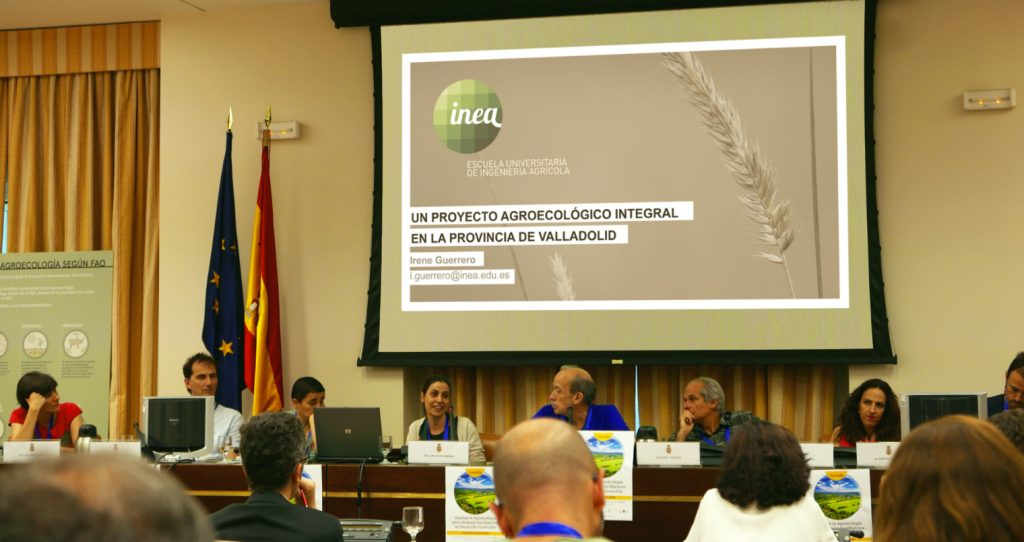 The Integral Agroecological Project of INEA, in the Congress of Deputies