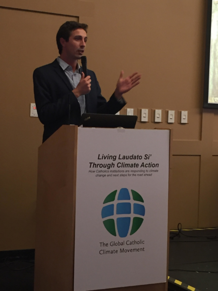 "University of San Francisco co-hosts ""Living Laudato Si' through Climate Action"" with the Global Catholic Climate Movement"