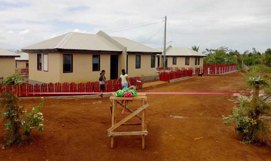 Disassembling temporary shelters, a crucial element in safe relocation to new houses