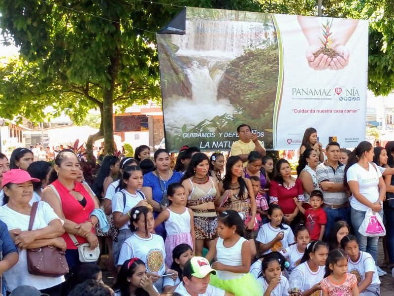 "Launch of the project ""Amazonía: taking care of the Common House"" in Ecuador"
