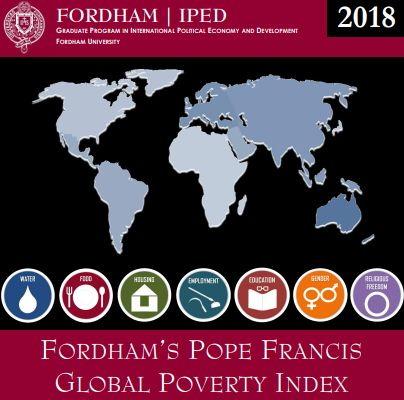 2018 Fordham's Pope Francis Global Poverty Index