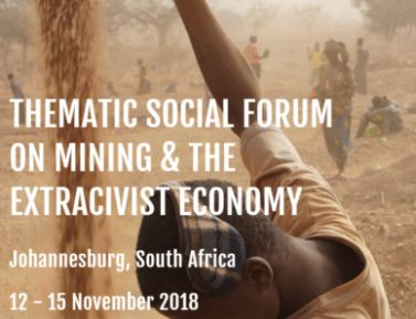 Justice in Mining Network joins key advocacy groups in South Africa