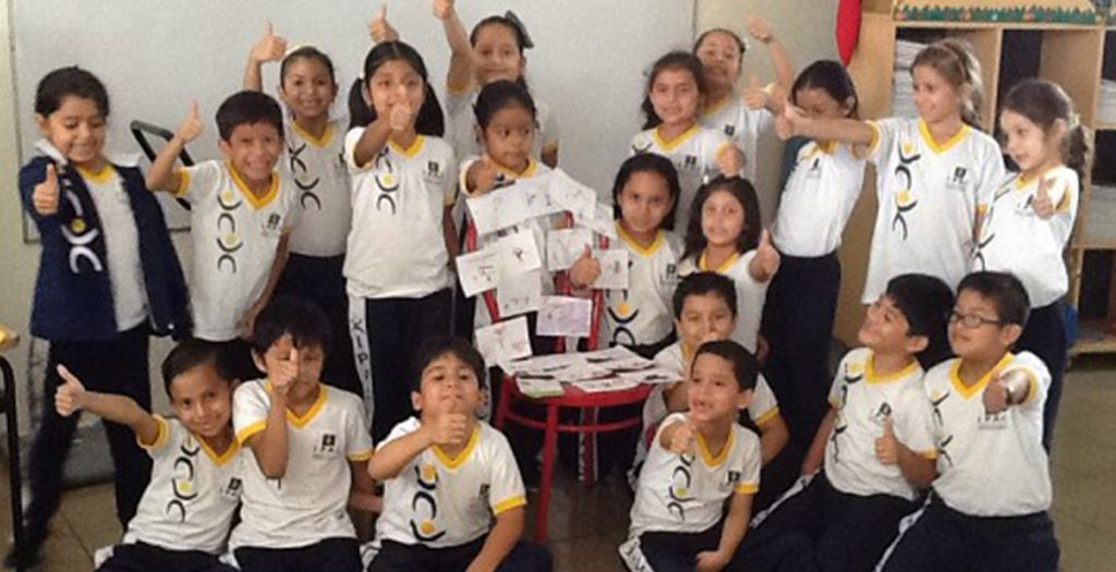 "Campaign ""The Red Chair of Fe y Alegria Ecuador"" in the IPAC"