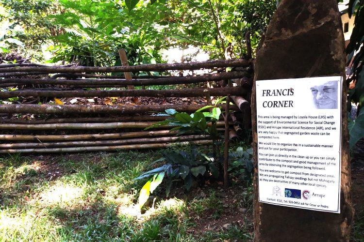 The Francis Corner