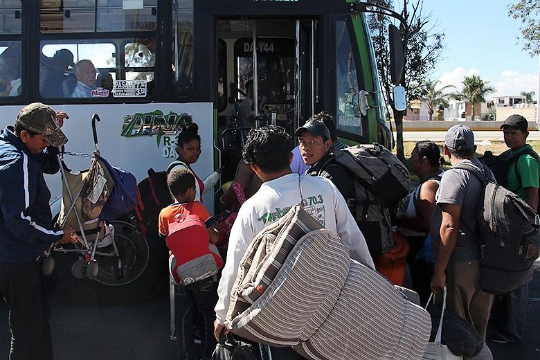 México: Caravana Migrante