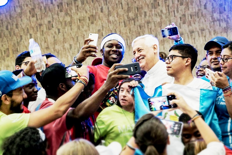 "Young people themselves are ""a sign of the times"" – Fr. Arturo Sosa, SJ – Superior General of the Society of Jesus"
