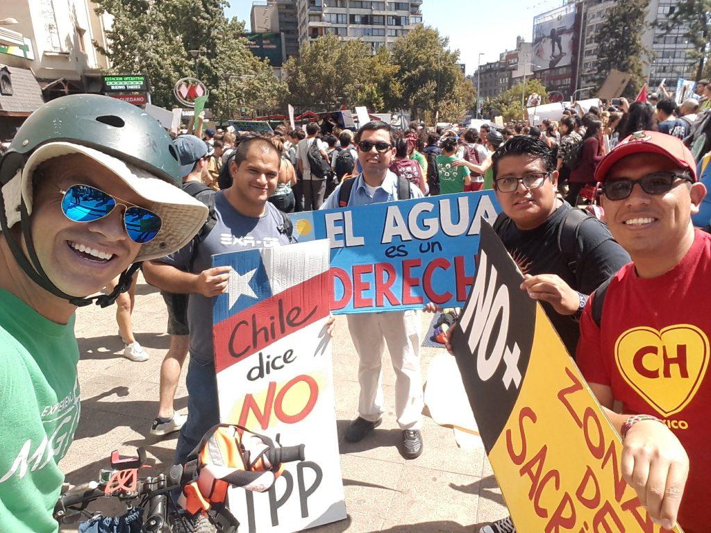 Testimonio marcha masiva por el cambio climático y el cuidado del medio ambiente – Conferencia de Provinciales Jesuitas de América Latina y el Caribe (CPAL)