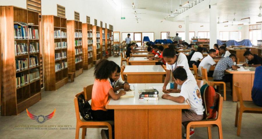 Seeking the world inside a library – Fr Bert Boholst SJ