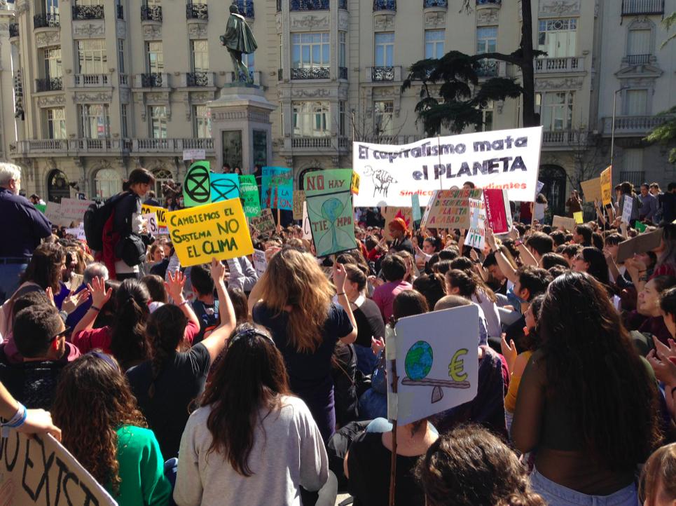 Fridays for climate in Madrid – Jaime Tatay Nieto SJ