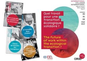 """""""Quel travail pour une transition écologique solidaire ?"""" : colloque international du CERAS à l'UNESCO – Jesuites: Europe Occidentale Francophone"""