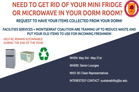 Recycle for Good! – Boston College