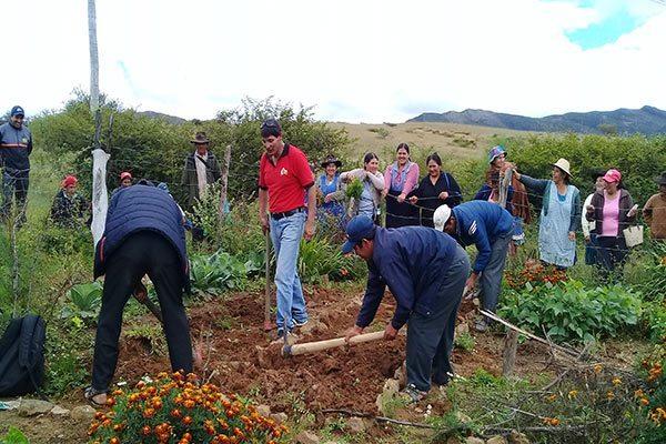 FAMILIAS SE CAPACITAN EN LA IMPLEMENTACIÓN DE FINCAS INTEGRALES – Fundacion Accion Cultural Loyola
